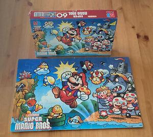 Vtg RARE 1988 SUPER MARIO BROS. Princess Peach Koopa Jigsaw Puzzle Nintendo '80s