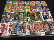 1980 1981 1982 1983 1984 1985 -2018 Topps Basebal MLB Packs Vintage Lot Box Case