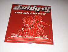 Daddy DJ - the girl in red - cd single 4 titres 2001 (neuf scellé)