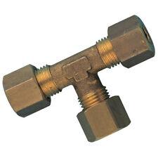 Messing Metrische Klemmringverschraubung - 22mm od Gleich- T-Stück 9-04363
