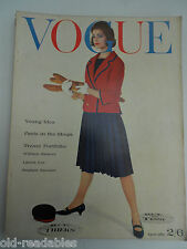VOGUE  APRIL 1961 - More Birthday Issues in our shop- FREE GIFTWRAP