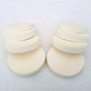 Makeup Sponges 8 Pack Puffs Cosmetic Round Blenders Foundation Make-up Circles