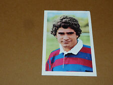 N°125 CLAVERIE LOURDES RECUPERATION AGEDUCATIFS RUGBY 1971-1972 PANINI