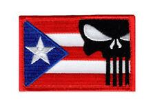 Puerto Rico Flag Punisher Tactical Morale Hook Patch (PR6)