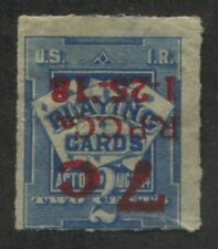 Playing Cards Tax revenue stamp Scott RF10a