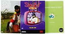 Space Ghost Coast to Coast - Vols. 1-3 (DVD, 2005) *Brand New Sealed*