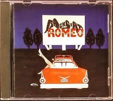 BACKSEAT ROMEO 1993 Inde CD - RARE HAIR METAL / MELODIC HARD ROCK