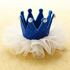 Kawaii Crown Hairclip Lace Pearl Star Barrettes Baby Headband Headwear Hot New