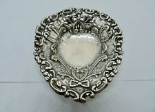 1895 VICTORIAN - COLEN HEWER CHESHIRE - SOLID STERLING SILVER - DISH
