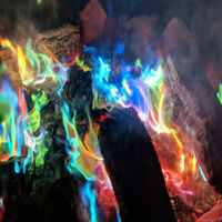 Fire Magic Colorful Flames Campfire Color Magical Adds Party Powder Fireplace