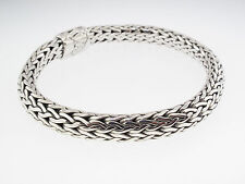 JOHN HARDY KALI COLLECTION BRACELET MEDIUM STERLING SILVER 7.3 mm WIDE, 7.5""