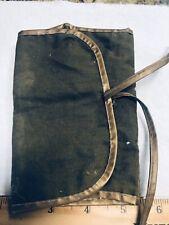 Vintage Military Army Sewing Kit-Case-Ticket Stub- Toy Flat Gun-button 1958