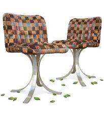 Stuhl Original RETRO 60er- 70er-Jahre Orbit Design Chrom Sessel