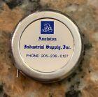 "1960S Anniston Industrial Supply Tape Measure 72 Inch Long 2"" Diameter Lufkin"