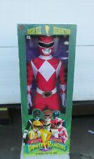 "Rare Toymakers Mega Size Mega Action Mighty Morphin Power Rangers 36"" Red Ranger"