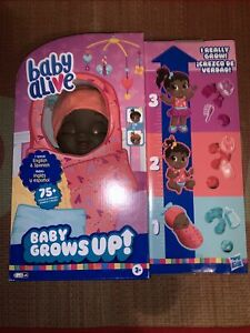 Baby Alive Baby Grows Up  Sweet Blossom Lovely Rosie Talking & Growing Fast Ship