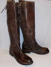 Bed Stu Women's Manchester Distressed Leather Tall Riding Boots $295 size 9