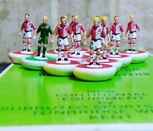Denmark Away 1986 Subbuteo Team Handpainted and decals