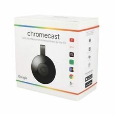 GOOGLE CHROMECAST VIDEO 2 HDMI STREAMING VIDEO MEDIA PLAYER