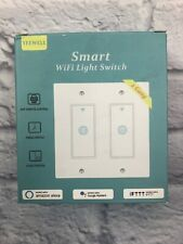 Yeewell Smart Wifi Light Switch **NIP** 2 Gang App Remote Control Timing Switch