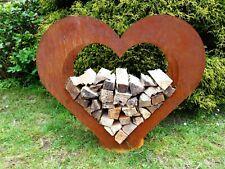 Corten Herz Garten Beeteinfassung Friedhof 1,5 mm Blech normale Ausführung