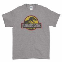 Palaeontology Jurassic Park World Classic Dinosaur Men T Shirt Top Tee
