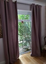 Lined, Eyelet Curtains By Linea