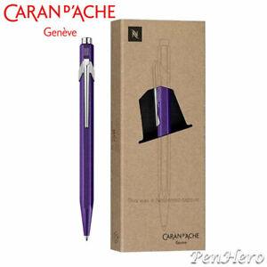 Caran d'Ache 849 Nespresso Limited Edition Purple Arpeggio ballpoint pen 849.104