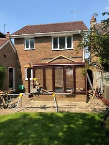Transform PVC Conservatory 3x4m To 321 conversions EXTENSION bracknell £9000