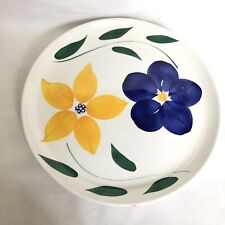 VTG ROMA INC..Brooklyn NY.Hand painted in ITALY- Large Round Platter