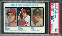 1973 Topps #613 Bob Boone Rookie! PSA 7 NM
