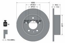 2 X 92075200 REAR TEXTAR BRAKE DISCS