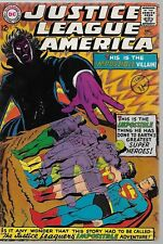 "JUSTICE LEAGUE OF AMERICA #56 - ""Justice League vs. Justice Society!"" -- 3.5 VG-"