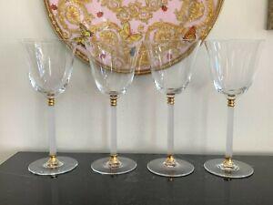 Sasaki Tucano Pattern Wine Glasses Set of 4