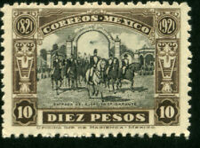 MEXICO 633, $10P 100th ANNIV. ENTRY OF THE INSURGENT ARMY INTO MEXICO CITY MNH