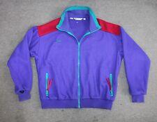 Vtg COLUMBIA  Ski Snow Outdoor Green Granate Jacket Polar Zip Mens size XL