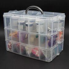 30 Grids Plastic Storage Box Portable Detachable Home Organizer Transparent Case