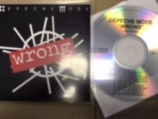 "Depeche Mode ""Wrong"" Rare 12 Remix New Cd Promo"