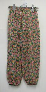 Zara Kids Bright Floral Trousers Summer Multicoloured Age 13 - 14 NEW - WAR C73