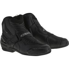 Alpinestars SMX-1 R Motorcycle Motorbike Short Shoes Boots - Black