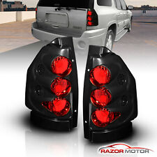 02-09 Gmc Envoy Tail Lights Rear Brake Lamps Black Blk Assembly Lh+Rh Pair New (Fits: Gmc Envoy)