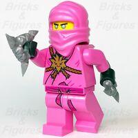 New Ninjago LEGO® Pink Zane Avatar Prime Empire Nindroid Minifigure 71708