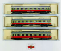 """247. KATO N - LOTE 3 COCHES SERIE 5000 RENFE """"LUCKY"""" 2ªCL. DISTINTAS NUM. - TOP!"""