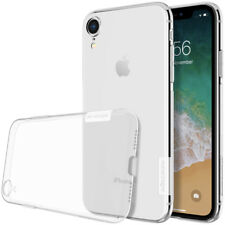Funda Nillkin Nature para iPhone XR Gel Antideslizante Transparente Clear