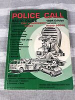 Vintage Radio Shack Police Call 1994 Radio Listeners Guide Fire Emergency Codes