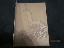 1944 Maplewood - Richmond Heights (MO) Maple Leaves High School Yearbook - Nice!