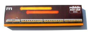 Marklin  #8155 Z Scale Mini-Club Lufthansa Airport Express Passenger Train Set