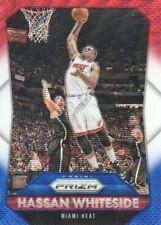2015-16 Panini Prizm Basketball RedWhiteBlue Prll #94 Hassan Whiteside Heat