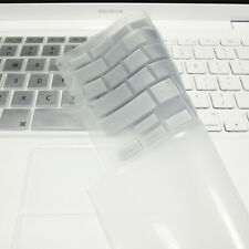 """FULL SILVER Silicone Keyboard Skin Cover  for Old Macbook White 13"""" (A1181)"""