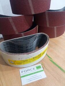 Klingspor 75mm x 480mm 40 grit sanding belts 1's 3's 5's HIGH QUALITY abrasives